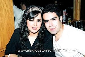 Marcela Téllez y Antonio Madrigal.