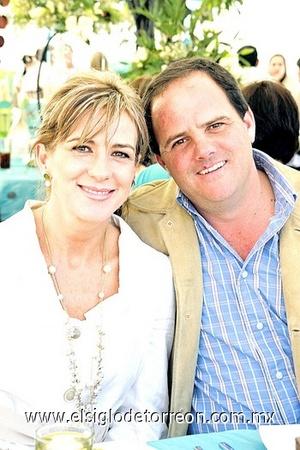 Gisela e Iñaki Jáuregui.