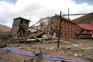 Fue arrasado el 85% de las construcciones.