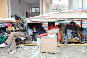 La serie de sismos destruyó inmuebles en todo el condado occidental de Yushu.