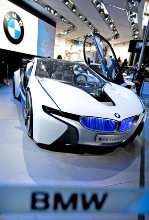 El Vision Efficient Dynamics de la BMW ya es una  toda una realidad.