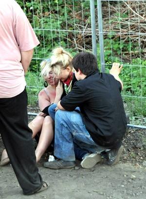 Varias personas presentaron crisis nerviosa tras la tragedia.