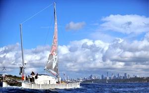 La expedición ha sido formada por seis tripulantes.