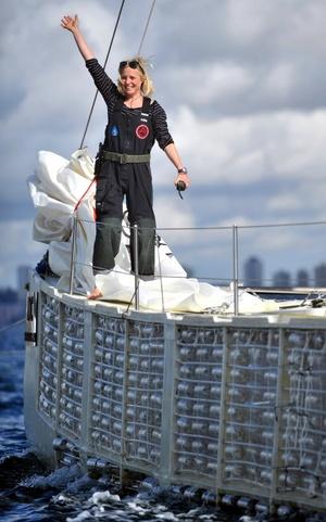 El catamarán de 20 metros de eslora salió de San Francisco el 21 de marzo.