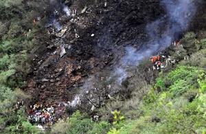 La causa del accidente de un avión de Airblue no estaba clara.