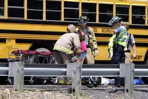 36 niños fueron trasladados a un hospital en San Luis, Missouri.