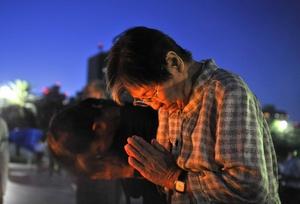 Ante un público que incluía al primer ministro nipón, Naoto Kan, Akiba rindió homenaje a los muertos y a los hibakusha, como se conoce a los supervivientes del desastre atómico, que sin entender la razón, se vieron envueltos en un infierno más allá de sus peores pesadillas.