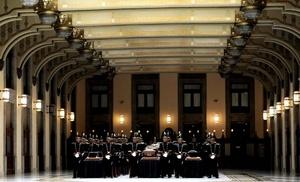 Los restos de los personajes históricos serán expuestos desde septiembre y hasta el 30 de julio de 2011 en la Galería Nacional, que Calderón inaugurará el próximo día 5 en el Palacio Nacional.