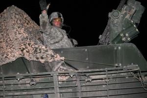 La Brigada Stryker, que lleva el nombre del vehículo que transporta tropas hacia sitios de batalla y los saca de los mismos, perdió 34 soldados en Irak.