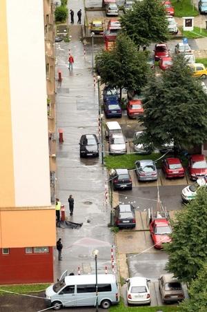 La octava víctima mortal es una mujer que fue hallada en su piso, donde fue alcanzada por una de las balas que el agresor disparó indiscriminadamente desde la calle contra las ventanas de un edificio.