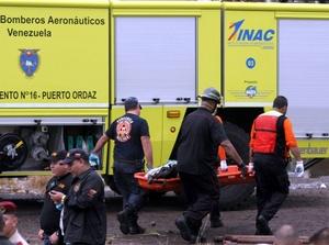 La aeronave había partido de la Isla de Margarita con destino a Puerto Ordaz y se precipitó a tierra poco antes de llegar al aeropuerto.