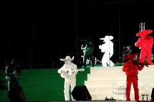 Los mariachis pusieron un toque especial a la fiestas del Bicentenario.
