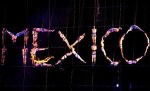 Un grupo de artistas participó de la presentación en el Zócalo de Ciudad de México, durante las celebraciones del bicentenario de la independencia.