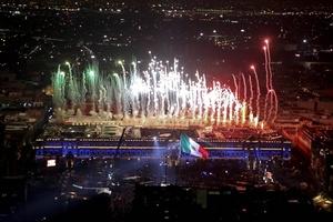 Autoridades capitalinas reportaron que los festejos del Bicentenario tuvieron una afluencia de un millón de personas y un saldo blanco.