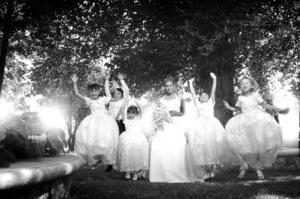 Lic. Lilia Elena Guerrero Orozco el día que contrajo matrimonio con el Lic. César Ubaldo Jiménez Reyes. <p> <i>Aspland Photo.Design</i>
