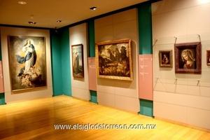El museo cuenta con varias salas destinadas a las exposiciones permanentes.