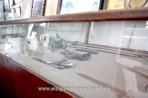 En el museo se pueden encontrar armas utilizadas en la revolución.