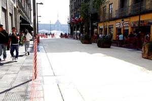 El peatonal recorre desde el Eje Lázaro Cárdenas hasta la plancha del Zócalo capitalino.
