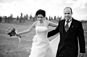 Ana Sofía y Jorge el día de su matrimonio. <p> <i> Fotografía de David Lack. DigitalizARTE Studio</i>  dio