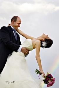 Ana Sofía Villarreal Campuzano y Jorge Bracho Marzal el día de su boda en esta ciudad, efectuada el 25 de septiembre. <p> <i> Fotografía de David Lack. DigitalizARTE Studio</i>