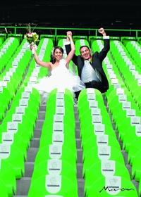 L.A. Ekaterine Peña Nava y L.A. Heriberto Soto Caldera contrajeron matrimonio el 16 de octubre de 2010 en la parroquia de Todos Los Santos. Ellos son hijos de los señores Profr. Carlos Peña Moreno y Profra. Guadalupe Nava Hernández; Catarino Soto Alvarado y Magdalena Caldera Tamayo. <p> <i>Estudio Morán</i>