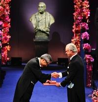 Ei-ichi Negishi recibió el Premio Nobel en Química.