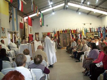 misa ofrecida cardenal jorge bergoglio día virgen guadalupe parroquia juan