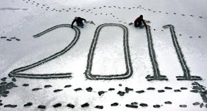 Nueva Zelanda y muchas islas del Pacífico sur fueron las primeras naciones en saludar el 2011.