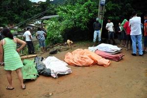 El alcalde de Teresópolis Jorge Mario Sedlacek declaró estado de emergencia.