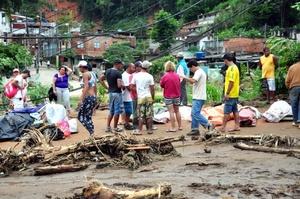Las lluvias veraniegas y los consecuentes deslaves matan cada año a cientos de personas en Brasil.