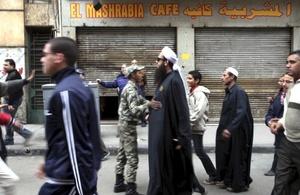El Movimiento 6 de Abril, el grupo opositor promotor de esta revuelta, convocó al pueblo egipcio a que se manifestara de forma multitudinaria.