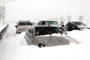 El Centro Nacional de Meteorología emitió una alerta de nieve y heladas que afectarón a 30 estados de la nación.
