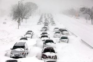 Los termómetros en la 'ciudad del viento registraron máximas de 18 grados bajo cero, señaló Laura Furgione, directora del Servicio Nacional del Meteorología.