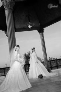 Lic. Astrid Marín e Ing. José Francisco Cossío Duarte el día que unieron sus vidas en matrimonio.- <p> <i>Sandoval Fotografía</i>
