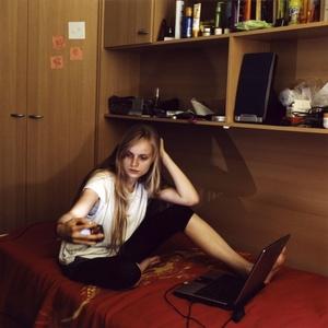Instantánea realizada por el fotógrafo alemán Wolfram Hahn que ha ganado el segundo premio en la categoría de Reportajes de Retratos.