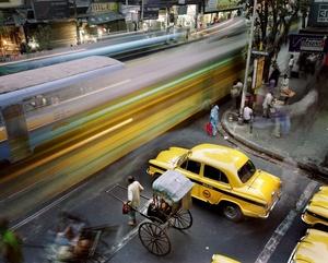 La fotografía sobre el tema Metrópolis, obra del fotógrafo holandés Martin Roemers, Panos, ha ganado el 1º premio en la categoría de reportaje gráfico de vida cotidiana.