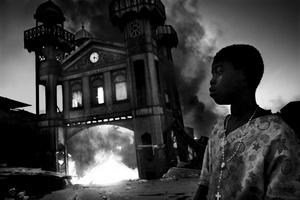 Instantánea realizada por el fotógrafo italiano Riccardo Venturi que ha ganado el primer premio en la categoría de Noticias Generales en la 54 edición de los Premios World Press Photo.