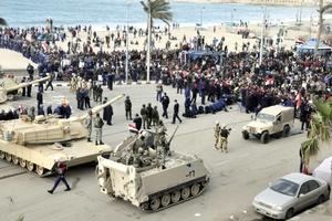 El primer día del nuevo Egipto no permitió receso ni descanso.