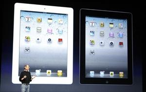 Steve Jobs dijo que la iPad 2 saldrá a la venta en EU el 13 de marzo.