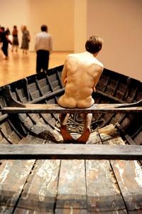 Las obras del artista australiano permanecerán en las salas del museo Marco hasta el próximo mes de julio.
