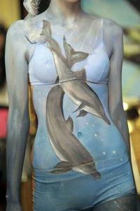 La pintura corporal considerada una de las primeras formas de expresión plástica utilizadas por nuestros antepasados.