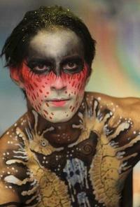 El concurso 'Bodypainting' es uno de los encuentros más importantes del mundo en esta rama del arte.