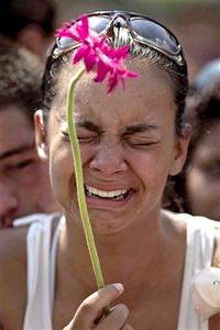 No habrá un período de luto largo y triste, la tradición brasileña estipula que la gente debe ser enterrada al día siguiente de su muerte.