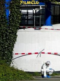 El centro comercial conocido como Ridderhof, ha sido acordonado por las autoridades y cerrado al público.