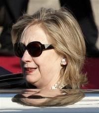 Clinton arribó a la capital de Corea del Sur.