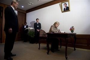 La secretaria de Estado viajará a Japón para reafirmar el apoyo de Estados Unidos hacia los japoneses en su proceso de recuperación luego del terremoto y el maremoto.