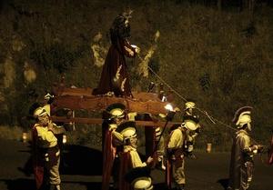 COSTA RICA. Feligreses de Costa Rica participan en la procesión del Silencio.