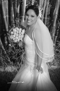 Cecilia Judith Ortiz Romero unió su vida en matrimonio a la de Sr. Jorge Alberto Orozco Juárez. <p> <i>R. Sosa</i>