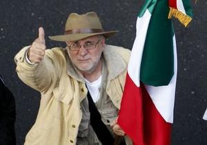 El poeta Javier Sicilia se ha convertido en un símbolo nacional después de que su hijo fuera asesinado por el crimen organizado y él contagiara su rabia y duelo a la sociedad.