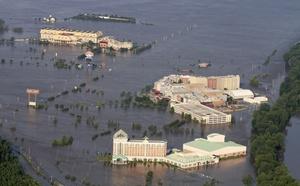 """El Servicio Avanzado de Predicción Hidrológica del SMN mantiene alerta de """"inundaciones mayores"""" en las próximas 48 horas en Memphis, Osceola, Caruthersville y Tiptonville en el estado de Tennessee."""